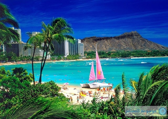 سياحة ولاية هاواي الأمريكية تتيح زيارتها بنقرة على الفأرة