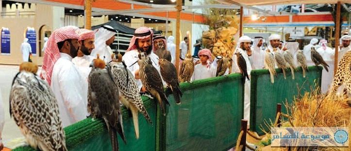المعرض الدولي للصيد والفروسية بأبوظبي