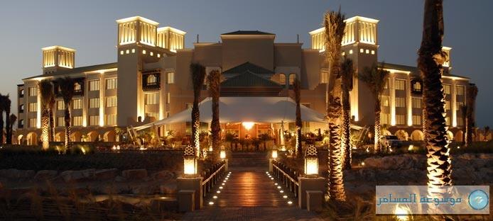 فندق جزر الصحراء في جزيرة صير بني ياس