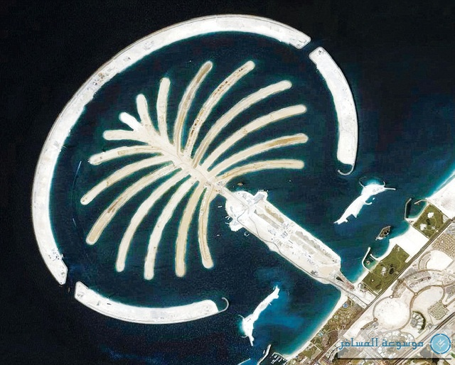 جزيرة نخلة الجميرا في دبي