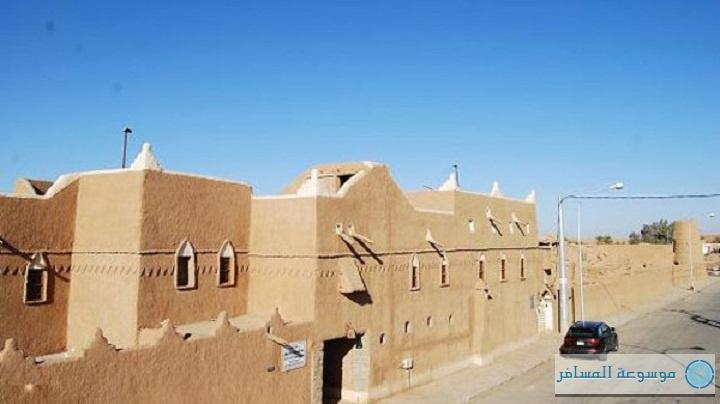أحد البيوت الأثرية في السعودية