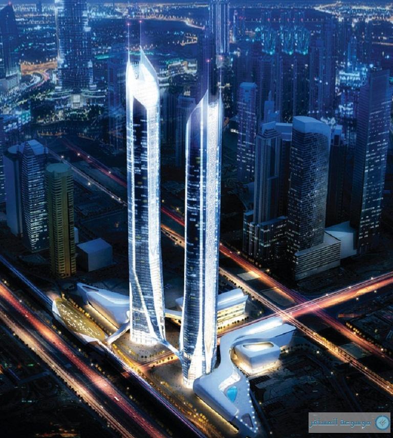 أعلى فندق في العالم