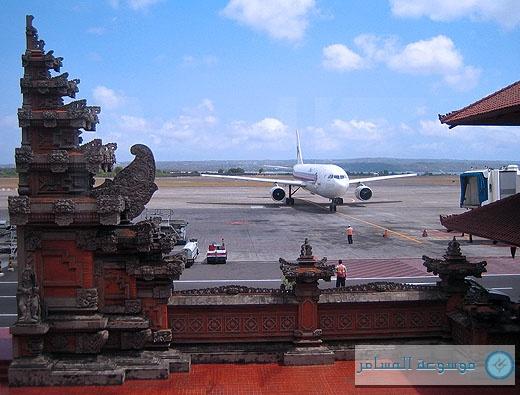 مطار دينسبار الدولي  (Ngurah Rai) Denpasar يرحب بك