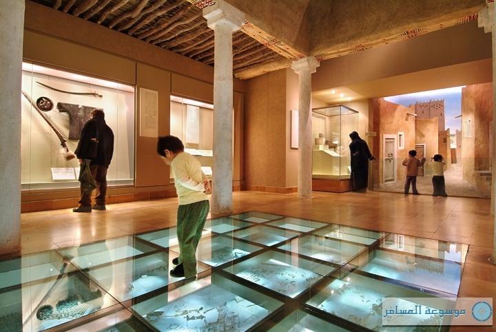المتحف الوطني بمركز الملك عبدالعزيز التاريخي