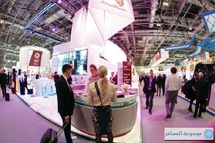حصل جناح هيئة أبوظبي للسياحة في معرض سوق السفر العالمي
