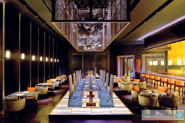 مطعم يوان في منتجع أتلانتس النخلة في دبي
