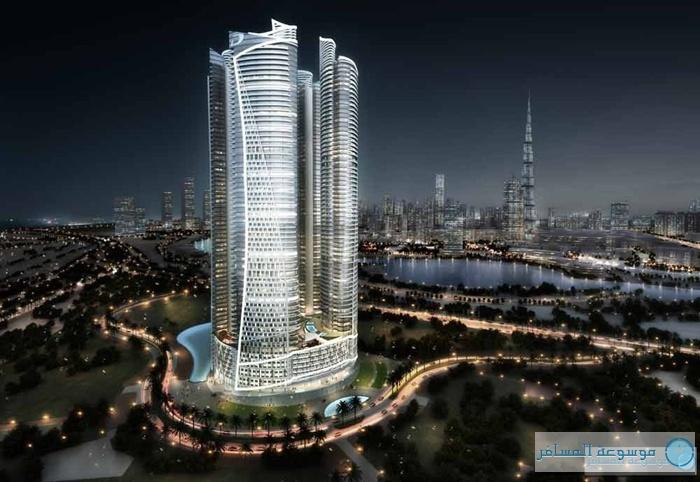 الدوحة تستقبل افتتاح مشروع شقق فندقية برج داماك مارينا ديسمبر 2014