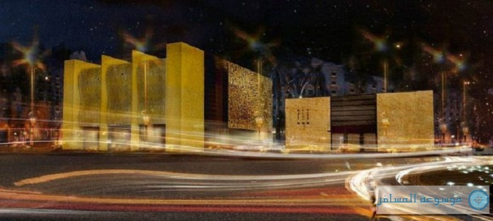 صورة تخيلية للمبنى