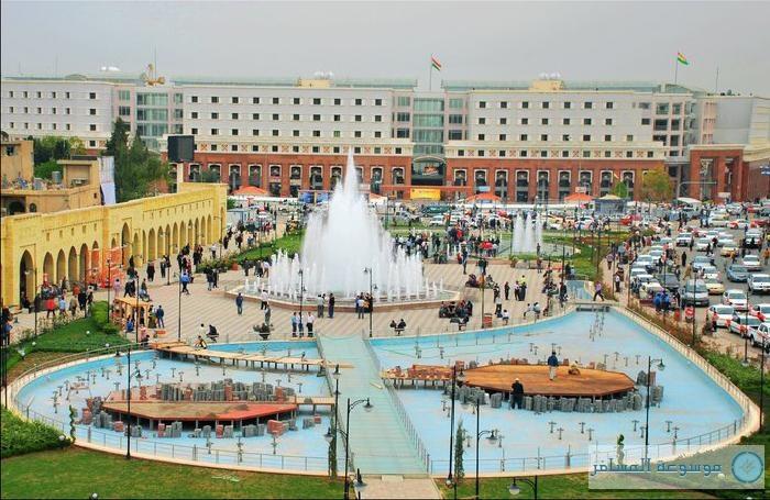 أربيل تستعد لإطلاق فعاليات عاصمة السياحة العربية 2014