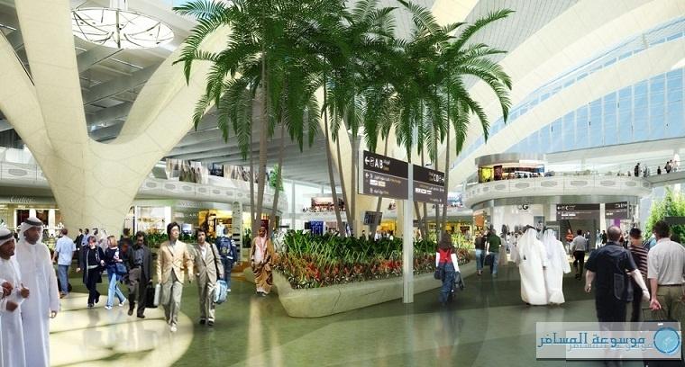 مبنى مطار أبوظبي الجديد