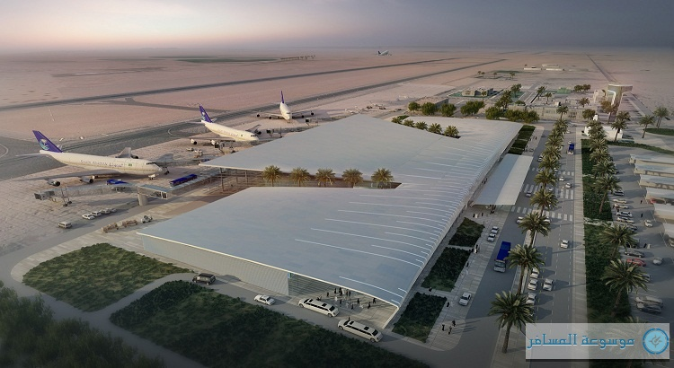 مطار الجوف الجديد يستقبل 48 طائرة دولية أسبوعياً