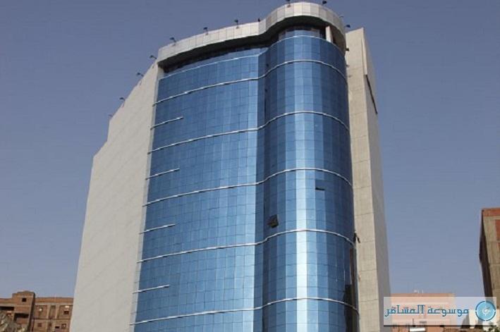 أحد المشاريع الجديدة التي اكتمل بناؤها في المنطقة المركزية بمكة