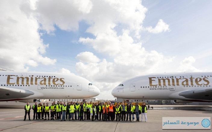 طائرتي إيرباص A380