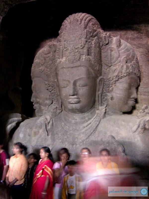 مومباي : كهف شيفا ، جزيرة إلفنتا