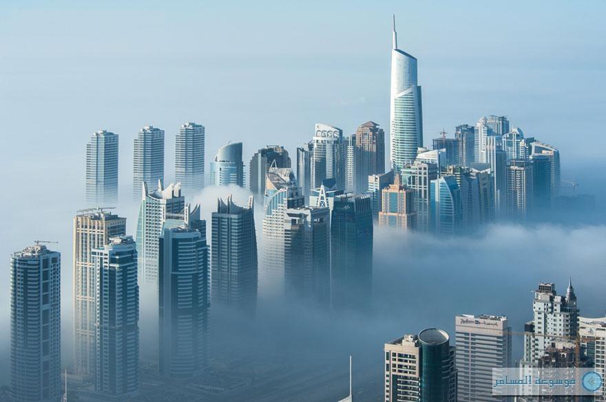 الأبراج-الشاهقة-دبي