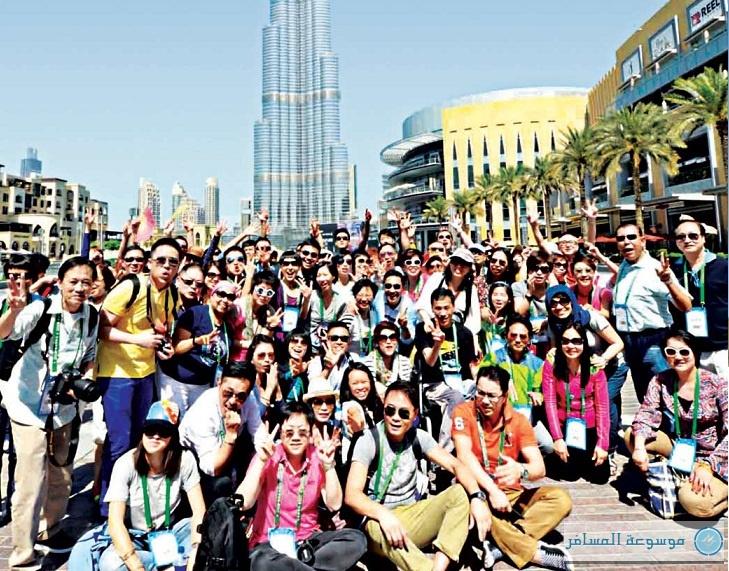 السياحي الصيني في الإمارات