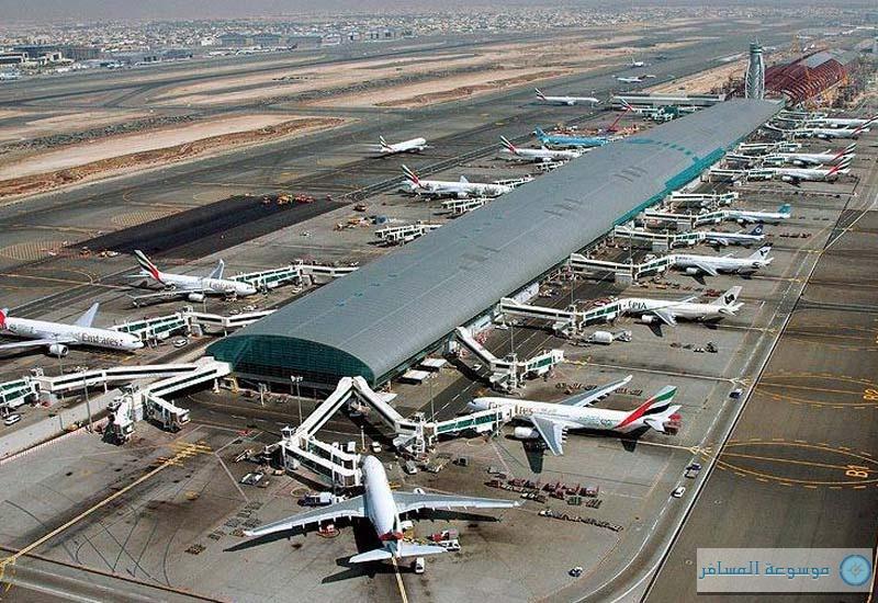 مطار دبي .. الحركة الجوية في الإمارات