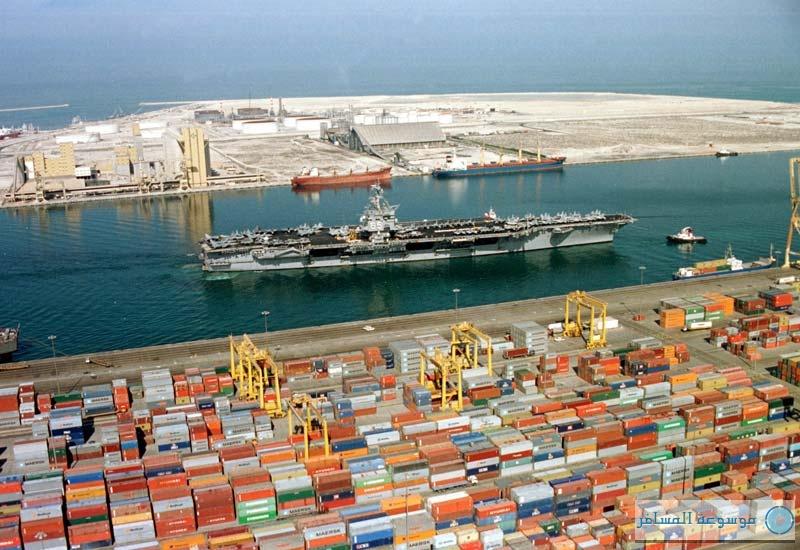 ميناء-جبل-علي