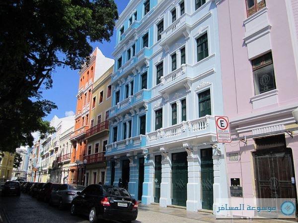Colourful-Bom-Jesus-Street-in-Recife-Brazil
