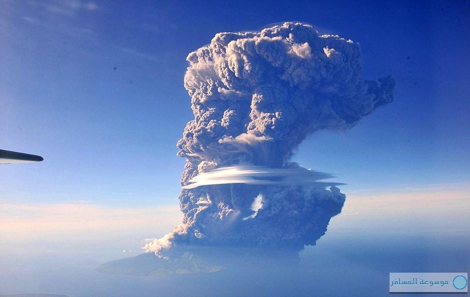 ثورة بركان سانغ إنغ أبي - أندونيسيا