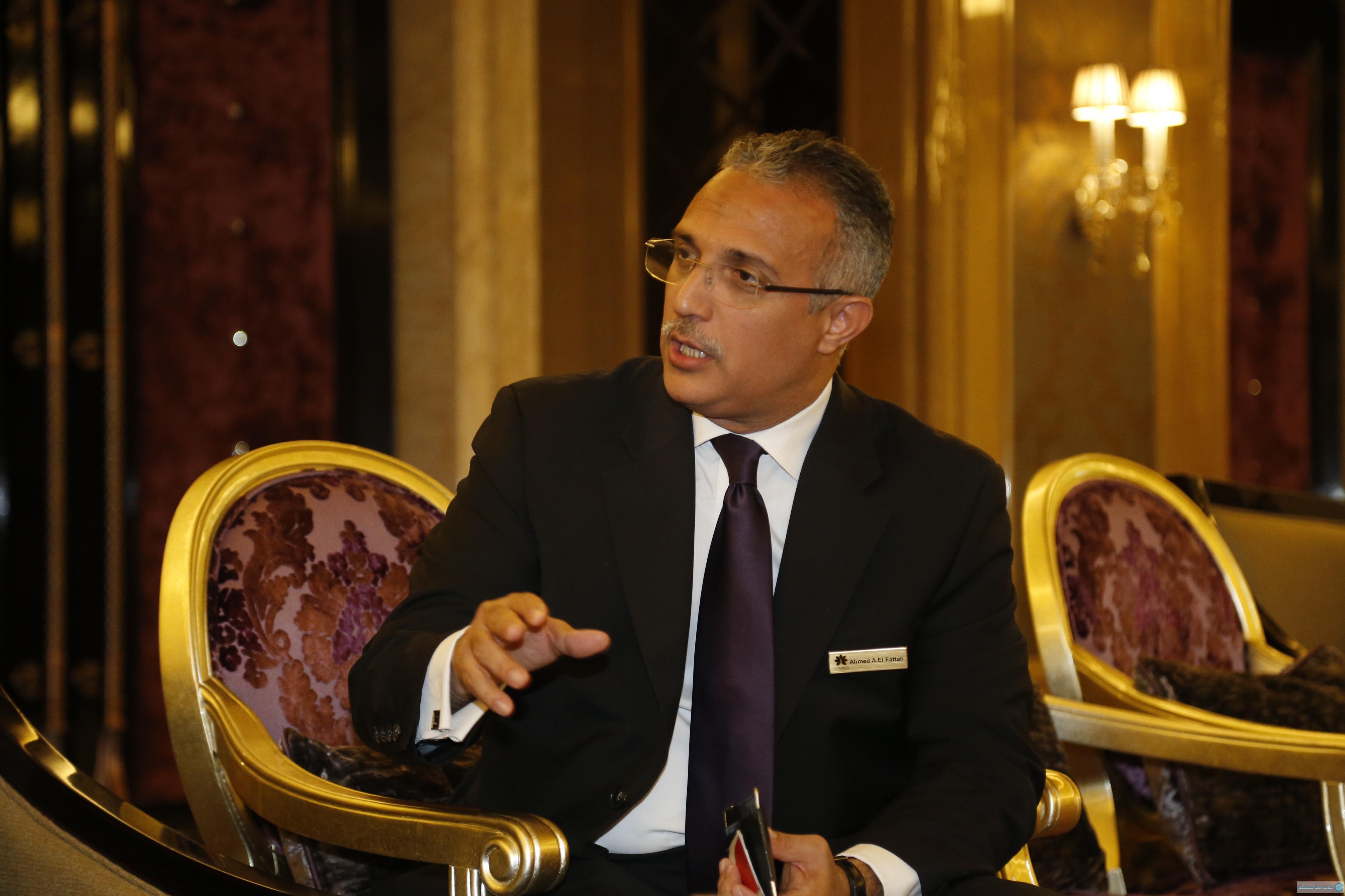 السيد أحمد عبدالفتاح مدير عام فندق نارسيس الرياض