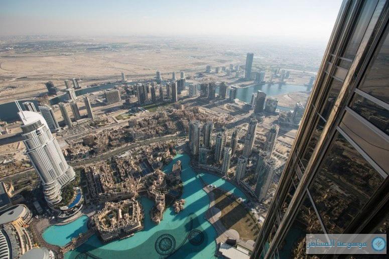 منصة المراقبة في برج خليفة