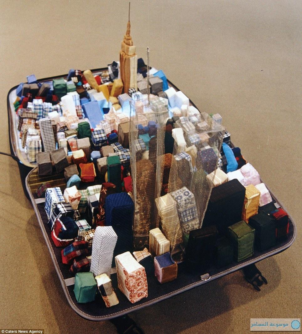 مدن العالم ضمن محتويات حقائب السفر