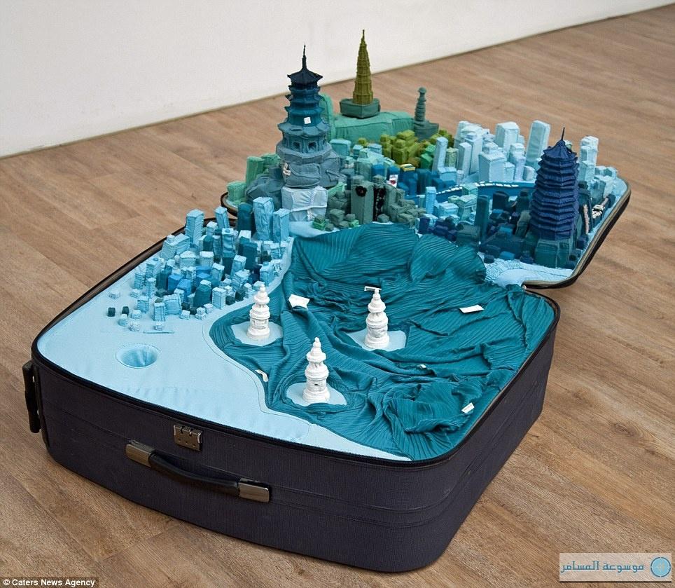مدينة هانغتشو في حقيبة سفرك