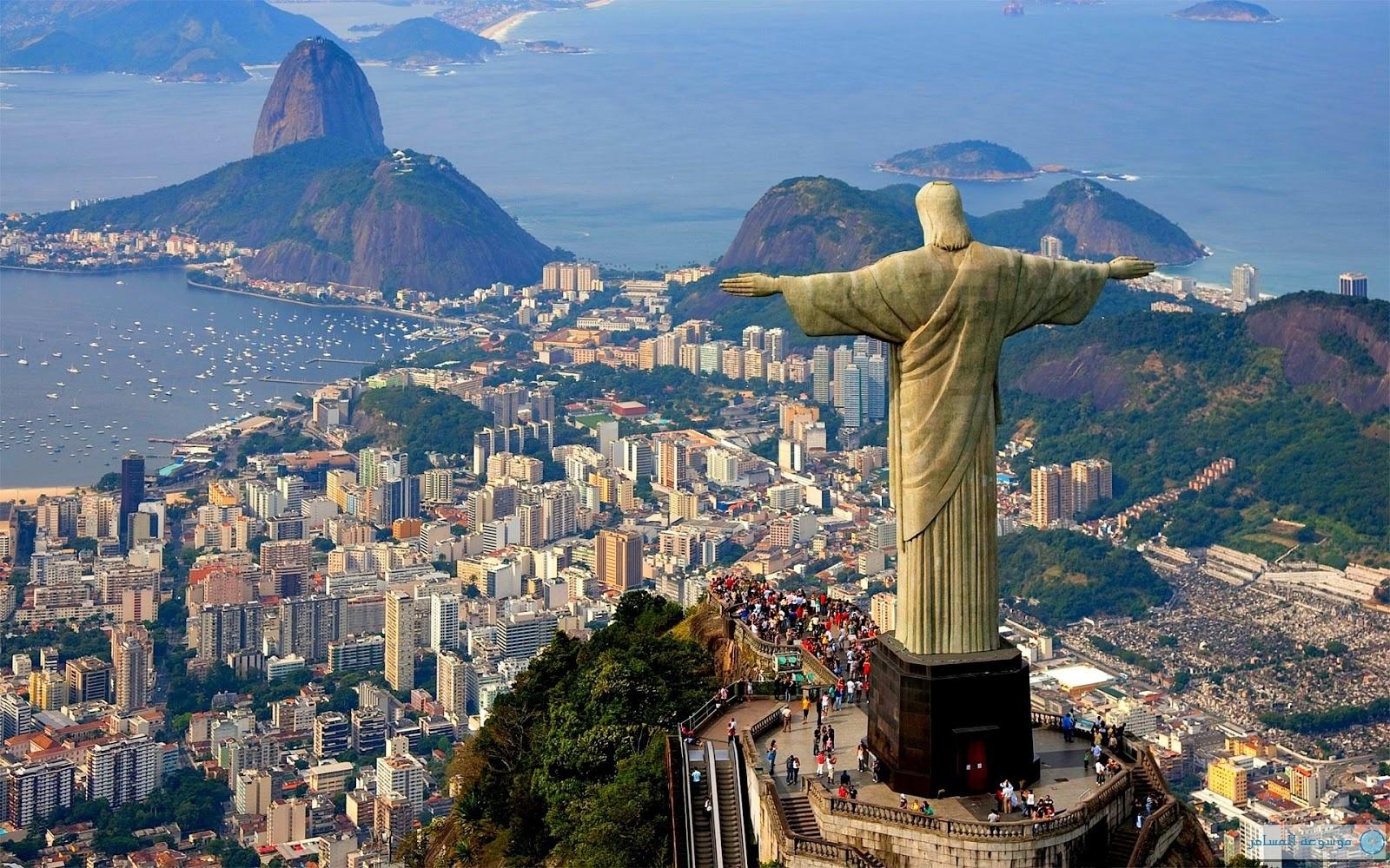 تمثال ريو دي جانيرو البرازيل