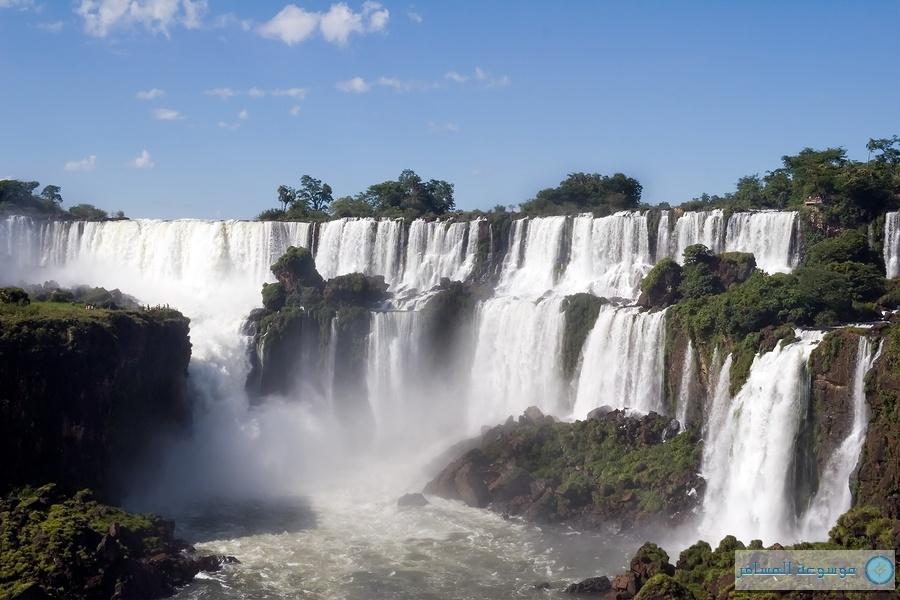 شلالات اجوازو الأرجنتين البرازيل