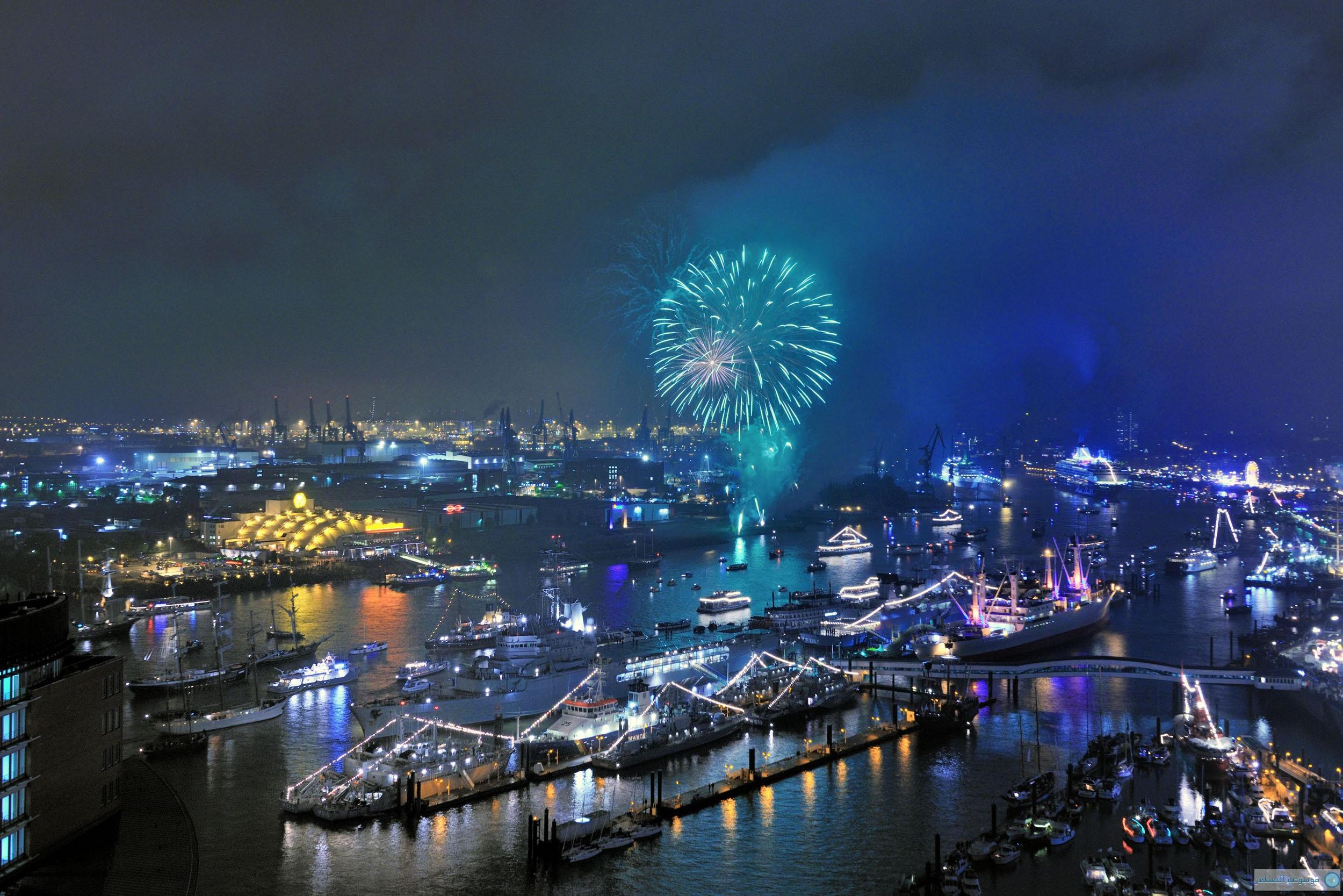 """""""الميناء الأزرق في هامبورغ"""" فعالية سياحية وفنية مذهلة في ألمانيا"""