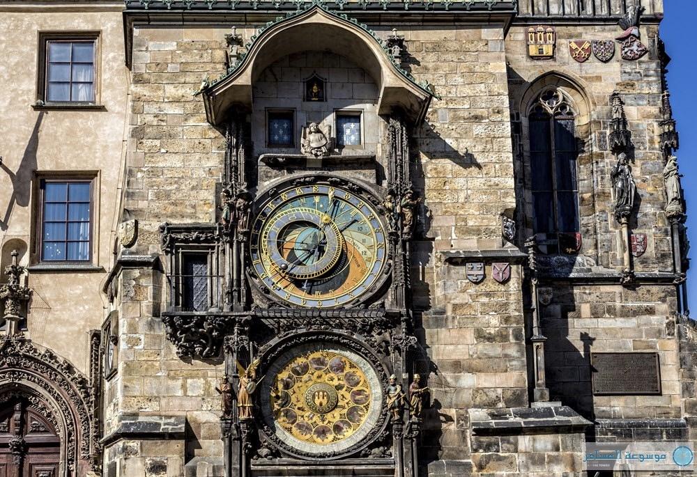 الساعة الفلكية براغ التشيك