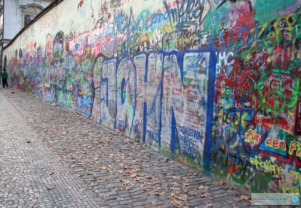 حائط لينون - براغ التشيك