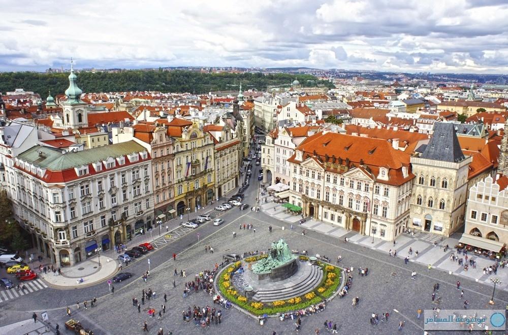 ساحة براغ العاصمة التشيكية