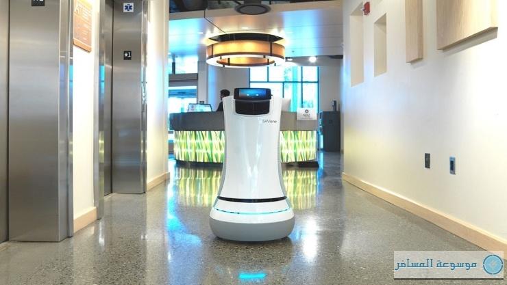 عامل روبوت فندق