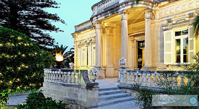 فندق وسبا كورنثيا بالاس في جزيرة مالطا