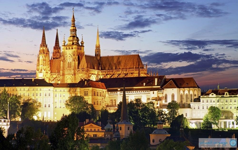 قلعة براغ التشيك