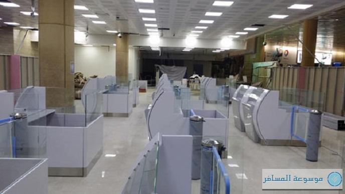 كاونترات الجوازات الجديدة في مطار الملك خالد