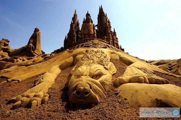 مهرجان التماثيل الرملية