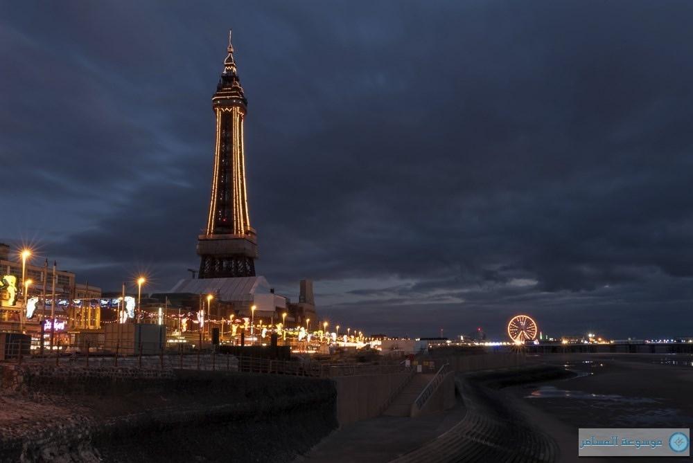 Blackpool Tower بلاكبول تاور بريطانيا