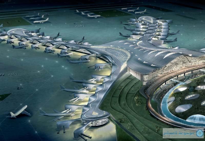 مطار أبوظبي الجديد