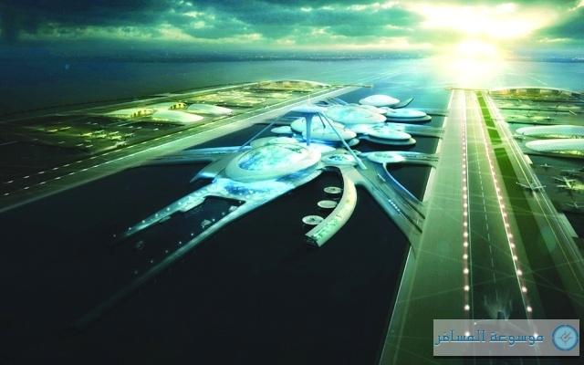 مطار في بوريس آيلند