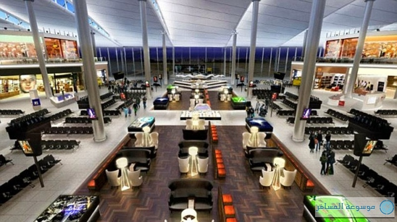 مطار هيثرو-مبني الملكة