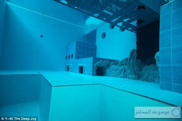 افتتاح أعمق حمام سباحة في العالم بإيطاليا