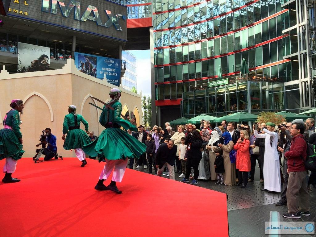 جانب فعاليات الأسبوع الثقافي السعودي المقام في برلين