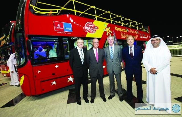 جولات بالحافلات المكشوفة على أبرز معالم دبي