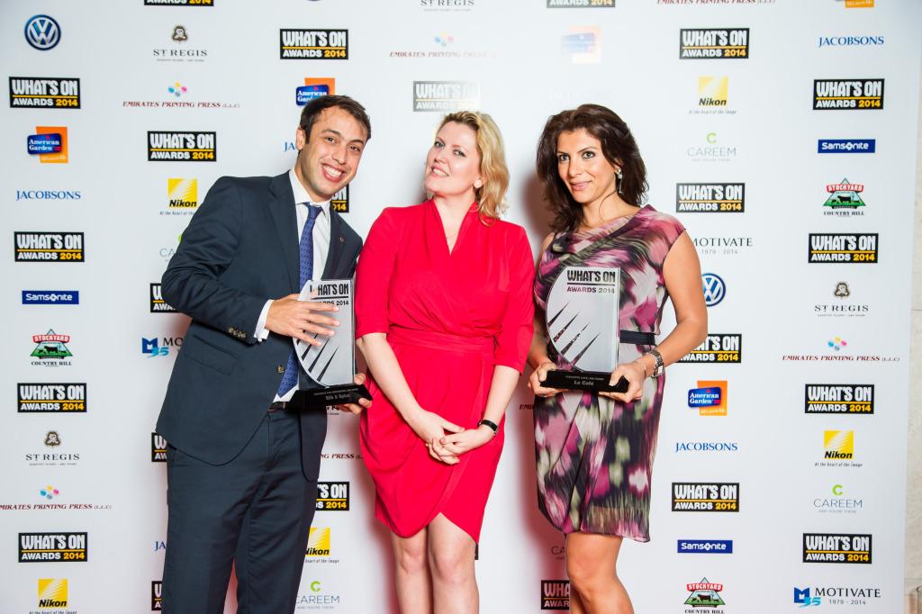 فندق سوفيتيل كورنيش أبوظبي Sofitel Abu Dhabi Corniche wins two Whats On Abu Dhabi Awards 2014