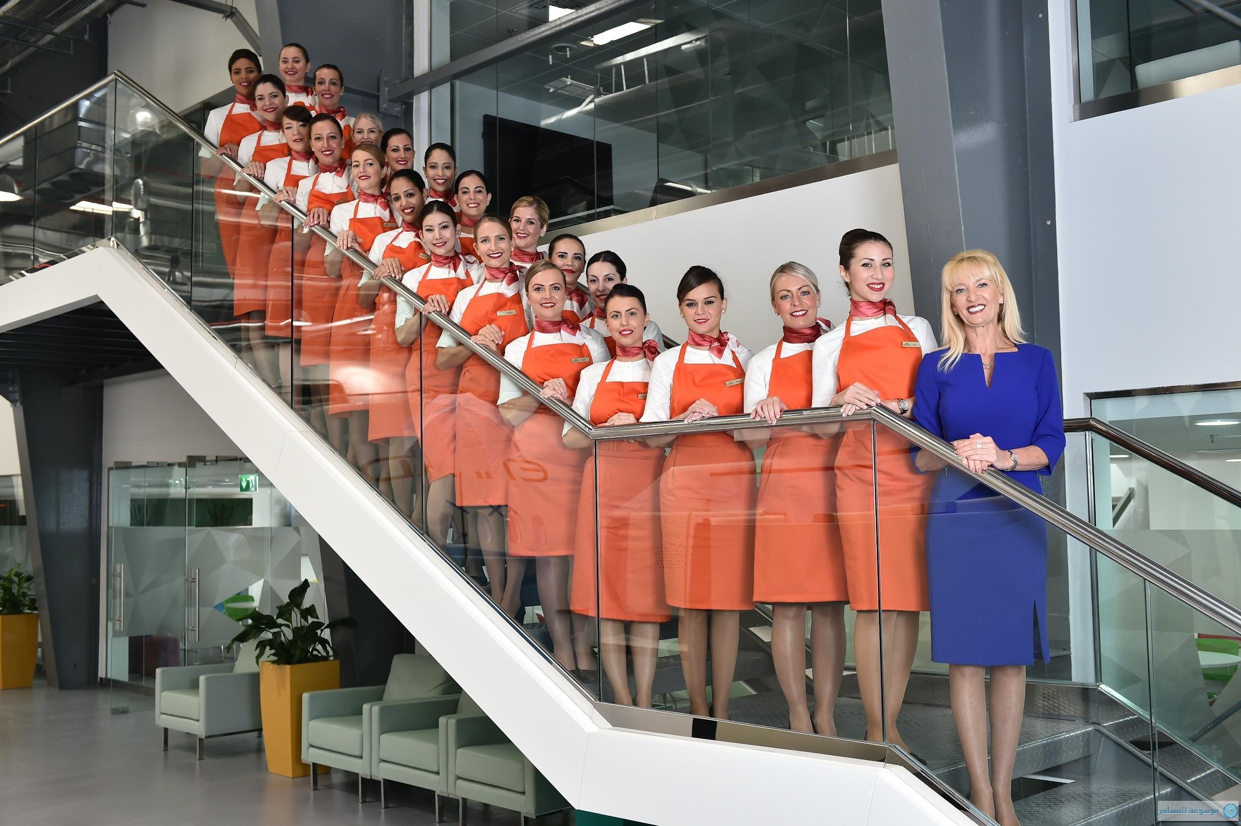 المربيات في الأجواء مربيات الأطفال الاتحاد للطيران