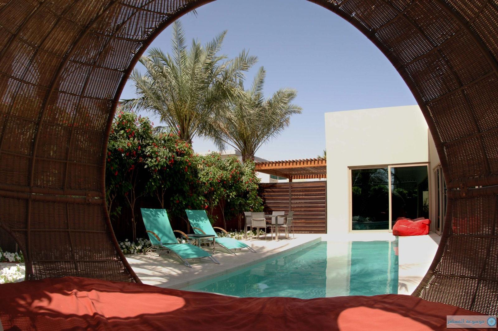 منتجع ديزرت بالم في دبي
