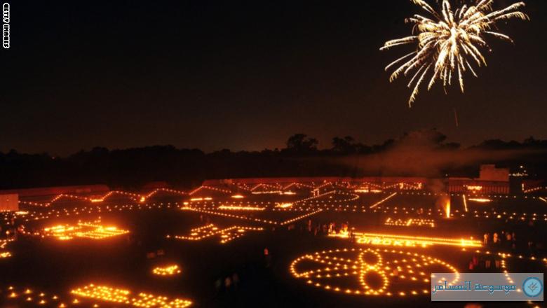 مهرجان ديوالي والأضواء